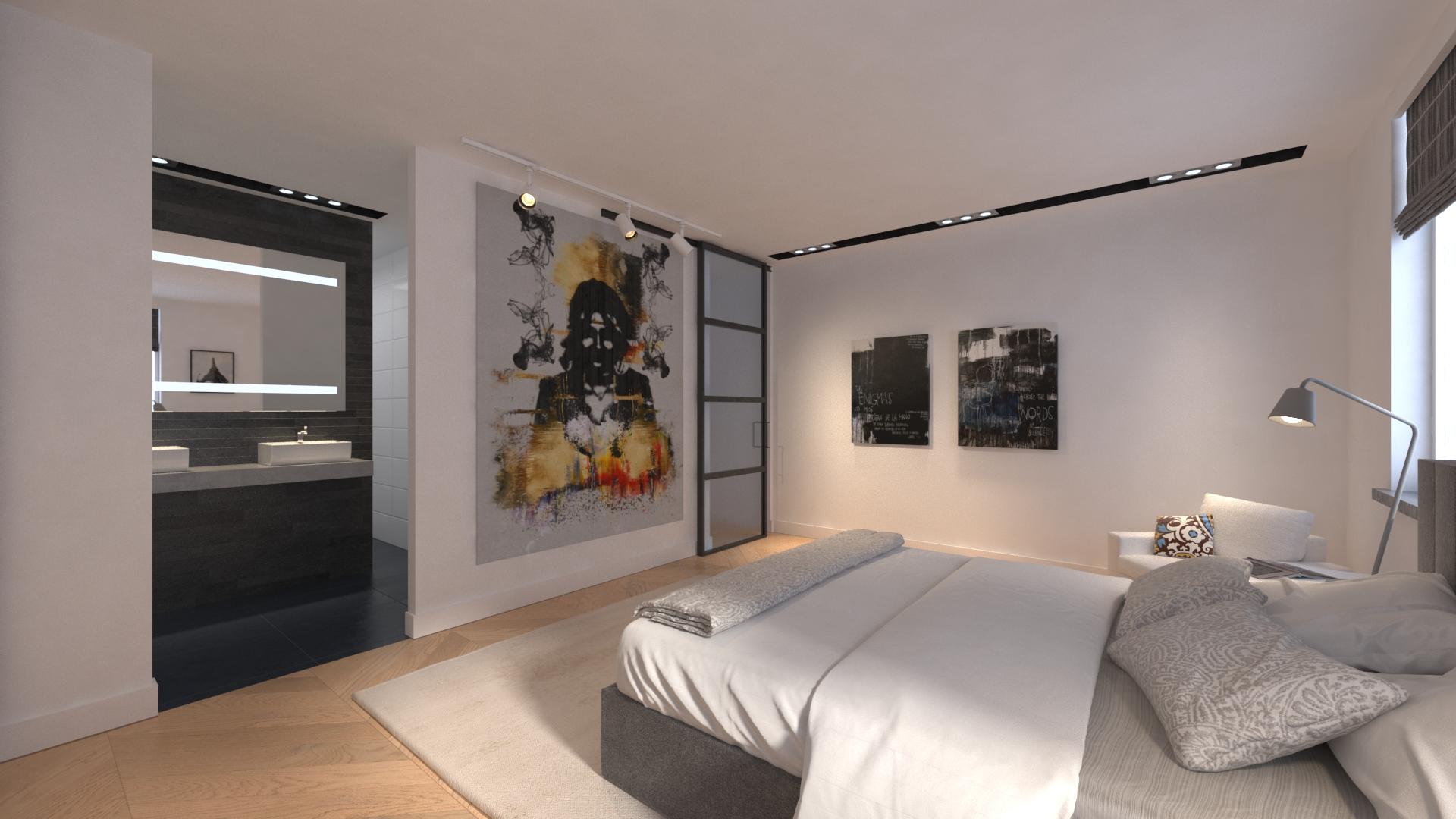 Carnisserhoeck slaapkamer